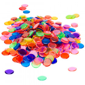 250 Pack Mixed Color Bingo Marker Chips