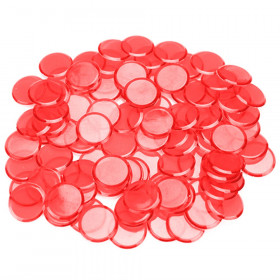 100 Pack Red Bingo Marker Chips