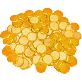 100 Pack Orange Bingo Marker Chips