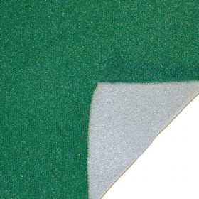 "Green Table Felt with Foam Backing - 58"" Wide - 10ft Section"