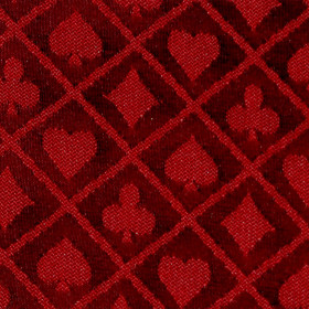 Red Two-Tone Poker Table Speed Cloth - 10ft Section
