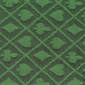 Green Two-Tone Poker Table Speed Cloth - 10ft Section