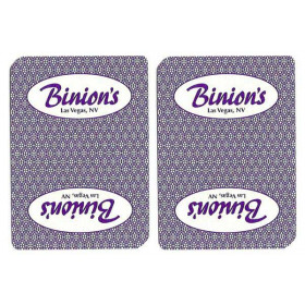 Binion's Casino Used Playing Cards