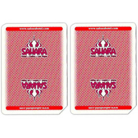 Sahara Casino Used Playing Cards