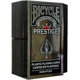 Bicycle Prestige 100% Plastic Playing Cards - Red