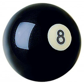 Cast Polyester Crazy 8-Ball