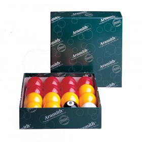 "Aramith Casino 2 1/4"" English Pool Ball Set"