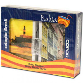 COPAG Bahia Plastic Playing Cards, Bridge Size, Jumbo Index