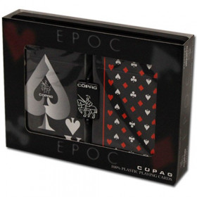 COPAG EPOC Black Face Playing Cards, Bridge Size, Jumbo Index