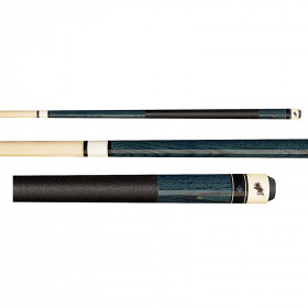Dufferin D-237 Deep Blue Stained Pool Cue