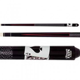Minnesota Fats Ace & King Maple Pool Cue w/Points & Nylon Wrap
