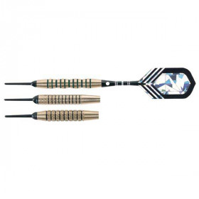 Arachnid Striped Brass Soft-Tip Darts - SFA400 - 16 Gram