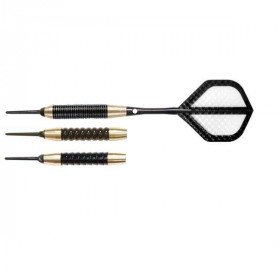 Arachnid Black & Brass Soft-Tip Darts - SFA450 - 16 Gram
