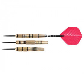 NODOR Striped Brass Steel-Tip Dart Set - STA400