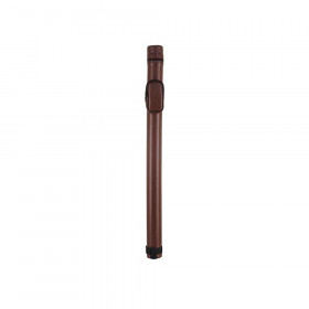 McDermott 1x1 Brown Vinyl Round Pool Cue Case