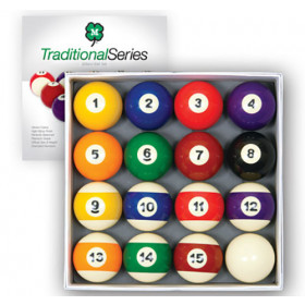 McDermott Traditional Series Billiard Ball Set