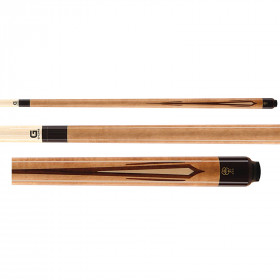 McDermott G233 G-Series Pool Cue - Walnut Stain