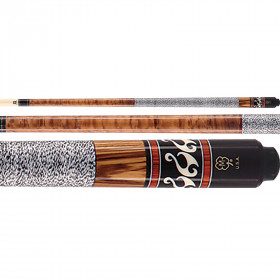 McDermott G306 G-Series Bocote Pool Cue - Brown