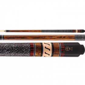 McDermott G308 G-Series Bocote Pool Cue - Brown