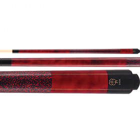 McDermott GS03 GS-Series Pool Cue - Burgundy Red