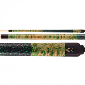 McDermott GS12 GS-Series Pool Cue - Green