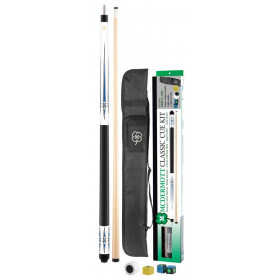 McDermott Classic Pool Cue Kit - White