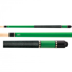 McDermott Lucky L72 Green Pool Cue Stick
