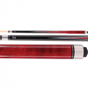 McDermott Star S3 Pool Cue - Black/Red