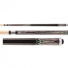 McDermott Star S59 Pool Cue - Grey/Green