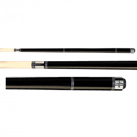 Players C-970 Midnight Black Pool Cue