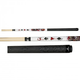 Players D-JS Wicked Jester Live Hard Pool Cue Stick