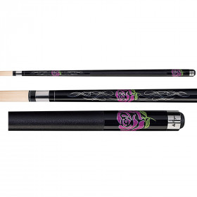 Players F-2770 Flirt Chic Rose Pool Cue Stick