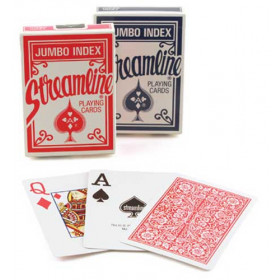 Streamline Jumbo Index Playing Cards - 1 Deck