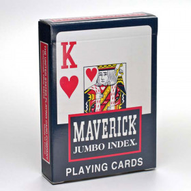 Maverick Jumbo Index Playing Cards - 1 Deck