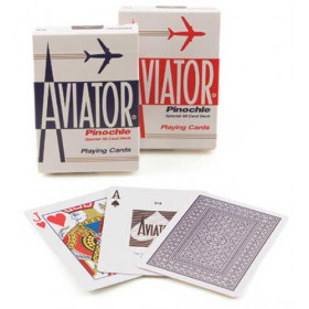 Aviator Pinochle Playing Cards - 1 Deck