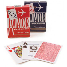 Aviator Jumbo Index Playing Cards - 1 Deck