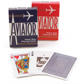 Aviator Standard Index Playing Cards - 1 Deck