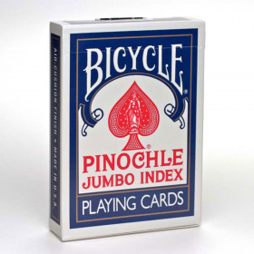 Bicycle Pinochle Jumbo Index Playing Cards - 1 Deck