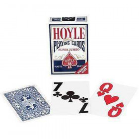 Hoyle Super Jumbo Low Vision Playing Cards - 1 Deck