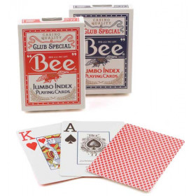 Bee Jumbo Index Playing Cards - 1 Deck