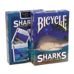 Bicycle Sharks Playing Cards