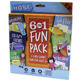 Hoyle 6-in-1 Fun Pack Card Games