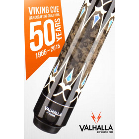 Valhalla by Viking VA503 Pool Cue - Brown/Turquoise