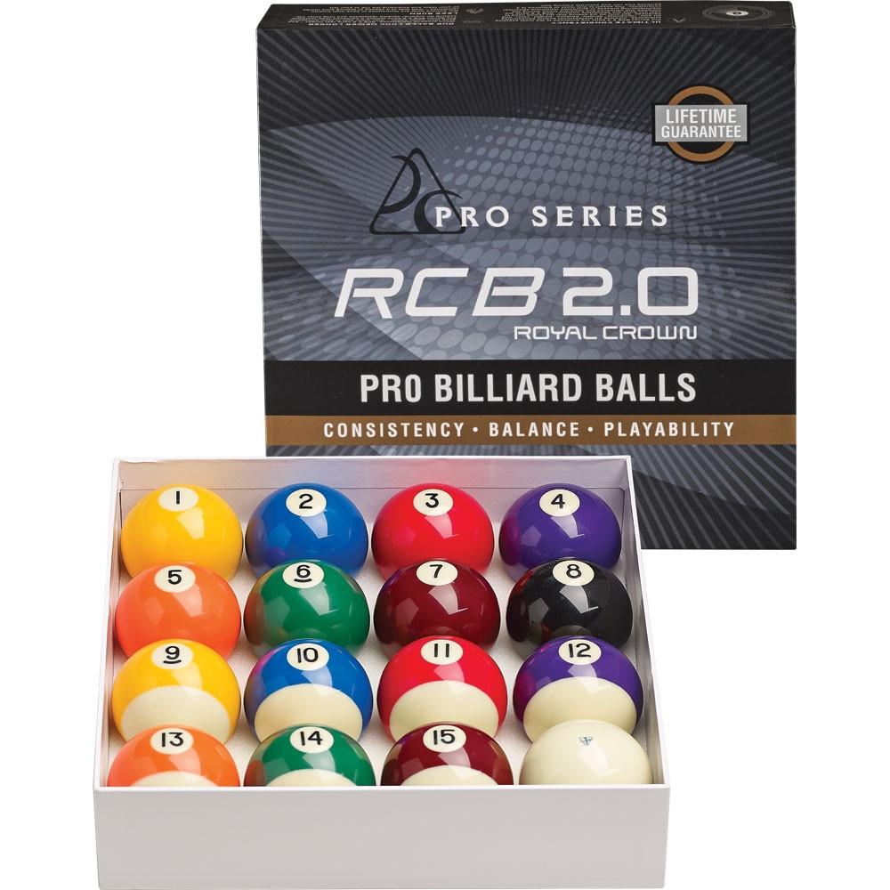 Pro Series RCB2 0 Royal Crown Pro Billiard Ball Set