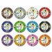 Desert Heat 13.5 Gram Clay Composite Poker Chips
