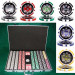 Ace Casino 14 Gram 1000pc Poker Chip Set w/Aluminum Case