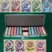 Ben Franklin 14 Gram 600pc Poker Chip Set w/Aluminum Case