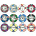 Claysmith Milano 10 Gram Clay Composite Poker Chips
