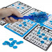 100 Blue Magnetic Bingo Marker Chips w/Magnetic Wand