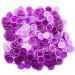 300 Pack Purple Magnetic Bingo Marker Chips